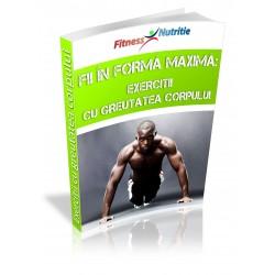 Fii în formă maximă: Exerciții cu greutatea corpului